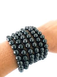 Shungite bracelets 8mm beads