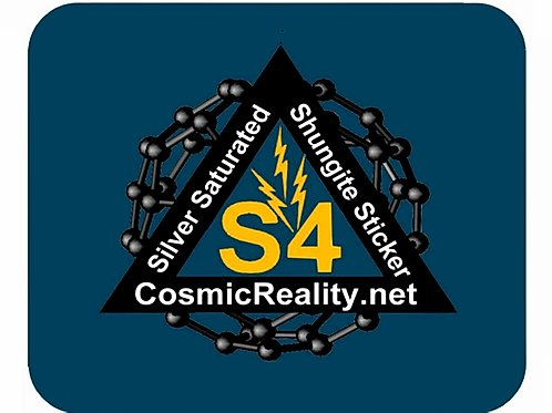 Shungite S4 sticker